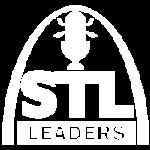 STL Leaders logo white